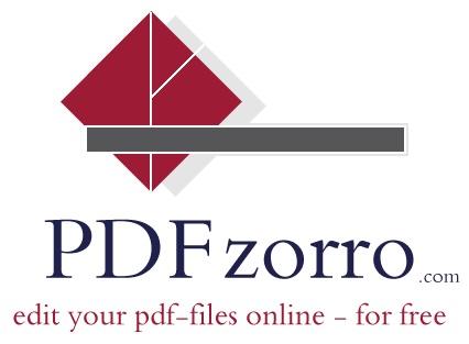 Pdfzorro Edit Pdf Files Online Draw